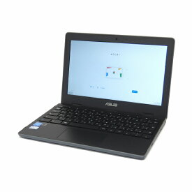 【24時間限定 3/1ポイント最大27倍 割引クーポン発行中】 美品 中古 パソコン リファビッシュ ASUS Chromebook Flip C204MA-BU0030 ダークグレー B5 ノートパソコン タブレット 11.6インチ 11ac 無線LAN USB3.1 カメラ Chrome OS 【Celeron N4000/4GB/32GB eMMC】
