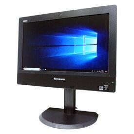 激安 中古 パソコン ★ Lenovo ThinkCentre M73z AIO 新品 無線キーボード マウス 20インチ 液晶 一体型 デスクトップ 4コア 無線LAN カメラ WPS Office付き Windows10 Home 【Core i5-4570s/4GB/500GB/MULTI】