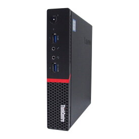 激安 Windows10 中古 パソコン ★ Lenovo ThinkCentre M900 Tiny ウルトラスモール 省スペース デスクトップ 高性能 WPS Office付き Windows10 Pro 【Core i3-6100T/4GB/500GB】 ●長崎発送