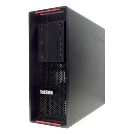 中古 パソコン ★ Lenovo ThinkStation P500 高性能 ミドルタワー デスクトップ ワークステーション 4コア Quadro K2200 WPS Office付き Windows10 Pro 【Xeon E5-1620v3/16GB/256GB SSD/MULTI】