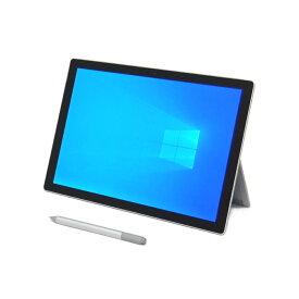 【7/30〜 72時間Pアップ 割引クーポン発行中】 中古 ノートパソコン Microsoft Surface Pro5 プラチナ 【Windows10 Pro/Core i5-7300U/8GB/256GB SSD】 12.3インチ Wi-Fiモデル 顔認証 タブレット B5 WPS Office付き