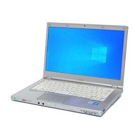 スーパーSALE期間 エントリーでポイント最大21倍 中古 パソコン ★ Panasonic Let'snote CF-LX3 B5 ノートパソコン 14インチ PC Matic 軽量 高性能 HDMI 1600x900 カメラ 無線LAN WPS Office付き Windows10 Home 【Core i5-4300U/4GB/128GB SSD】