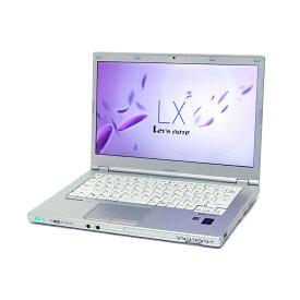 スーパーSALE期間 エントリーでポイント最大21倍 中古 パソコン ★ Panasonic Let'snote CF-LX4 B5 ノートパソコン 14インチ 軽量 モバイル 高性能 1600x900表示 11ac 無線LAN WPS Office付き Windows8.1 Pro 【Core i5-5300U/4GB/128GB SSD】