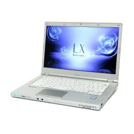 【お買い物マラソン 最大47倍 割引クーポン発行中】 特価品 中古 ノートパソコン Panasonic Let'snote LX6 【Windows10 Pro/Core i5-7300U/8GB/256GB SSD】14インチ フルHD HDMI カメラ ac 無線LAN WPS Office付き B5