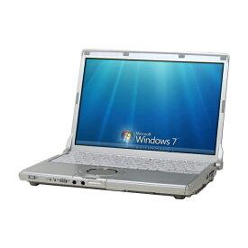 スーパーSALE期間 エントリーでポイント最大21倍 中古 パソコン ★ Panasonic Let'snote CF-N10 B5 ノートパソコン 12.1インチ 無線LAN WPS Office付き Windows7 Pro 64bit 【Core i5-2540M/4GB/250GB】