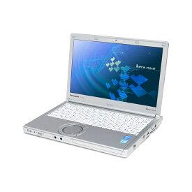 スーパーSALE期間 エントリーでポイント最大21倍 中古 パソコン ★ Panasonic Let's note CF-NX3 訳あり 外観難あり B5 ノートパソコン 12.1インチ HD+ 高性能 軽量 モバイル カメラ 無線LAN WPS Office付き Windows8.1 Pro 【Core i5-4300U/4GB/128GB SSD】