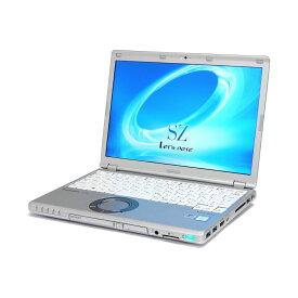 【楽天スーパーSALE 最大P50倍 割引クーポン発行中】 中古 パソコン Panasonic Let'snote SZ5 訳あり 外観難あり B5 ノートパソコン 12.1インチ WUXGA ac 無線LAN カメラ HDMI WPS Office付き Windows10 Pro 【Core i5-6300U/4GB/128GB SSD】