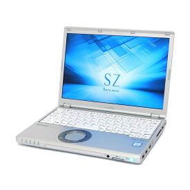 中古 パソコン Panasonic Let'snote SZ6 訳あり 外観難あり B5 ノートパソコン 12.1インチ WUXGA HDMI ac 無線LAN Windows10 Pro 【Core i5-7300U/8GB/256GB SSD】