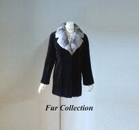 サファイアミンク×シェアードレッキスレディース毛皮コート・ファーコート・セーブル・バレンチノ・セオリー・チンチラお好きな方に