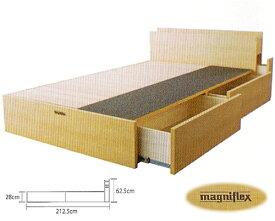 magniflex マニフレックス●マニボディエフワン・ヘッドボード付き/クィーンサイズ 正規輸入品 長期保証書付 …送料無料…