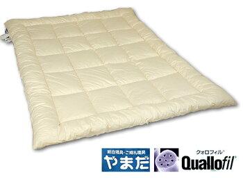 日本製・洗えるクォロフィル綿増量掛ふとん(シングルロング)ランキング1位入賞♪【品質保証付】