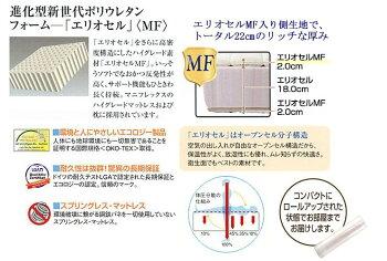 マニフレックスマットレス「フラッグFX」】シングル