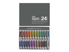 ホルベイン不透明水彩絵具セット(5号チューブ) 24色セット G715