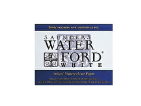 ウォーターフォード(ブロック)ホワイト 中目 F4