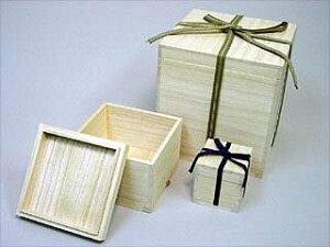 陶芸/桐箱 紐付き 盆栽鉢(小) 5個組(内寸 15×25×10cm)