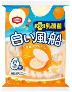 白い風船ミルククリーム(18枚)