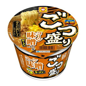 マルちゃんごつ盛りコーン味噌ラーメン(138g)