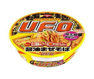 日清焼そばU・F・O濃い濃いラー油マヨ付き醤油まぜそば(112g)