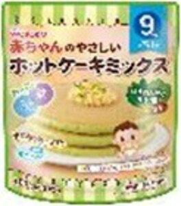 赤ちゃんのやさしいホットケーキミックスほうれん草と小松菜(100g)
