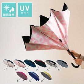 傘 逆さ傘 逆さま傘 軽量 日傘 二重傘 Circus サーカス 男女兼用 長傘