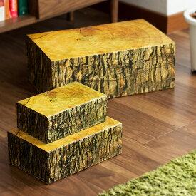ウッドブロックボックス S WOOD BLOCK BOX 箱 収納 キッカーランド KIKKERLAND 多目的ボックス 木目 ウッド ミッドセンチュリー アメリカ ギフトボックス 軽量 小物 雑貨 人気