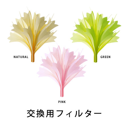 misty bouquet 交換用フィルター (ミスティブーケ ポップカラー 自然気化式 加湿器 Ai collectiion ミクニ エコ加湿)