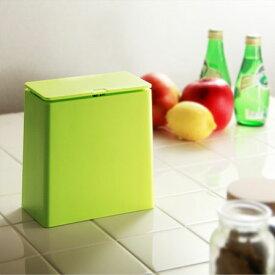 ゴミ箱 おしゃれ キッチン ふた付き 北欧 スリム リビング 小さい 角型 洗面所 ideaco チューブラー ミニフラップ イデアコ