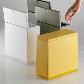 ゴミ箱 おしゃれ キッチン ふた付き 北欧 スリム リビング 小さい 角型 洗面所 ideaco チューブラー キッチンフラップ イデアコ