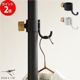 DRAW A LINE ドローアライン フックA 縦専用 ブラック ホワイト 012