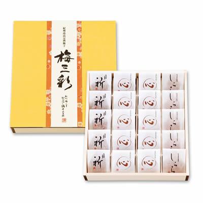 中田食品紀州南高梅完熟梅干梅三彩20個入り