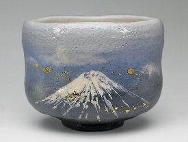 2019年初春作品 「陽光の富士」茶碗