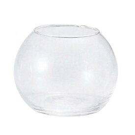 ガーデン雑貨 花瓶 ガラス フラワーベース H1003 アクアボールM エイチツーオー