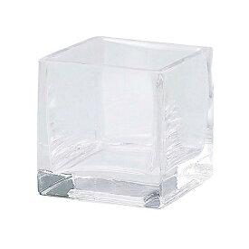 ガーデン雑貨 花瓶 ガラス フラワーベース H1020 マイクロキューブ エイチツーオー