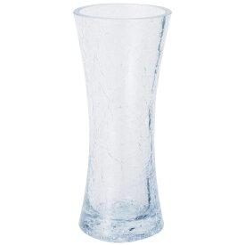 ガーデン雑貨 花瓶 ガラス フラワーベース H1170 ヒビ割れ花瓶 エイチツーオー