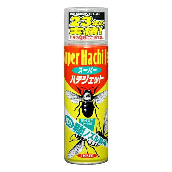 イカリ消毒 害虫退治 ハチ対策 スーパーハチジェット 480ml