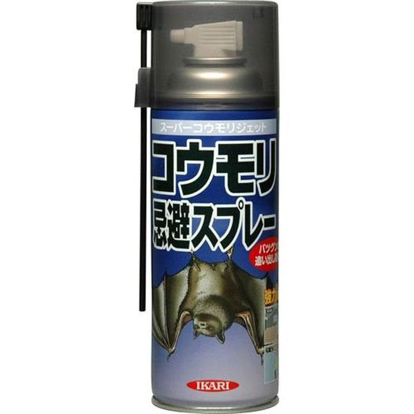 【クーポン配布中】イカリ消毒 鳥類忌避 スーパーコウモリジェット 420ml