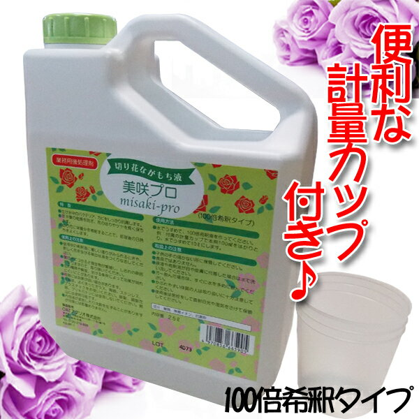 大塚アグリテクノス 切花栄養剤 切花延命剤 美咲プロ 2.5L