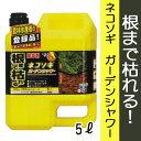 【レインボー薬品】【除草剤】ネコソギガーデンシャワー 5L