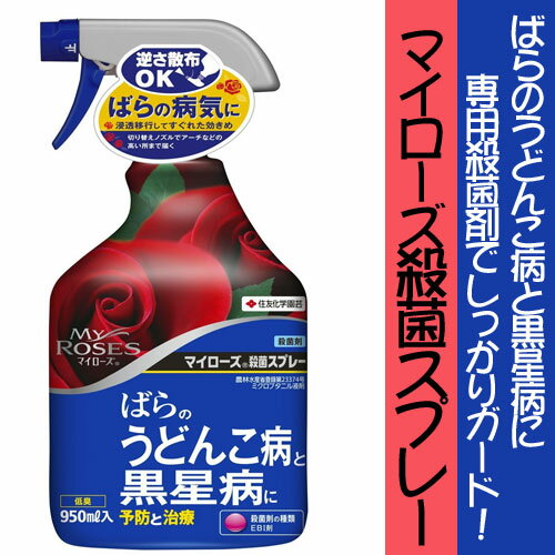 【クーポン配布中】住友化学園芸 殺菌剤 マイローズ殺菌スプレー 950ml