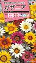 【メール便対応】【タキイ種苗】【花種】ガザニア タレントミックス(FGZ120)