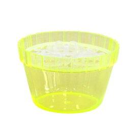 鉢 プラスチック 水耕栽培 水栽ポット NO.2 クロッカス3球用 イエロー 大和プラスチック アウトレット