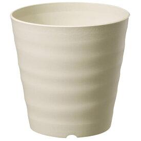 鉢 プラスチック おしゃれ フレグラーポット 30型 アイボリー 大和プラスチック