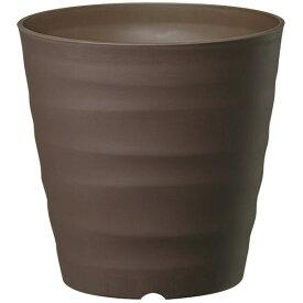 鉢 プラスチック おしゃれ フレグラーポット 30型 ダークブラウン 大和プラスチック