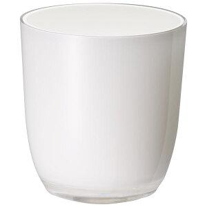 鉢 プラスチック 多肉 ハイドロカルチャー 底穴なし Ponシリーズ Pon C-2号 ホワイト 大和プラスチック
