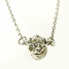 K10WG(10金ホワイトゴールド)ダイヤモンドネックレス