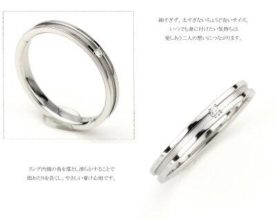 チタン結婚指輪(マリッジリング)鏡面仕上げプラチナイオンプレーティング加工商品【送料無料】刻印無料(文字彫り)金属アレルギーにも強いアレルギーフリーブライダルリングチタンマリッジリング刻印可能なチタン安心