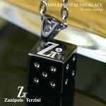 サージカルステンレススチール(316L)キュービックジルコニアネックレス(ZTP1013)【ZanipoloTerzini(ザニポロ・タルツィーニ)】