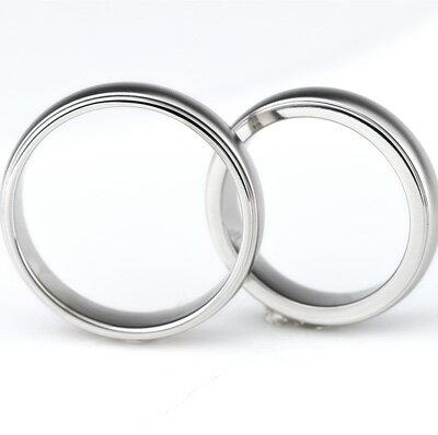 チタン結婚指輪(マリッジリング)プラチナイオンプレーティング加工商品男女ペアセット【送料無料】刻印無料(文字彫り)金属アレルギーにも強いアレルギーフリーペアリングブライダルリング結婚指輪マリッジリングチタンマリッジリング刻印可能なチタン結婚指輪cc