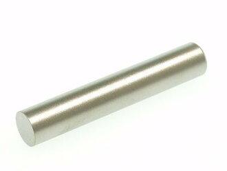 有圖章hanko鈦TITAN鈦圖章便章12.0mm圓圖章盒子(黑)