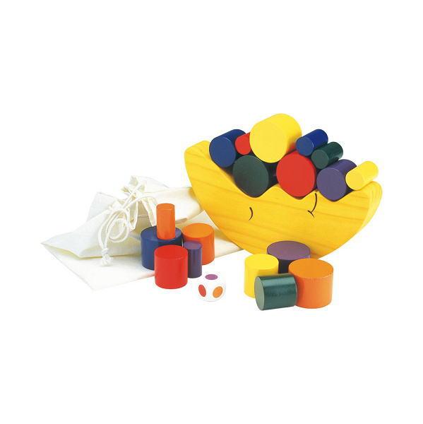 【今だけ!ミニタオルプレゼントさらにクーポン5%OFF】お月さまバランスゲーム 木のおもちゃ 積木 ブロック エド・インター 楽天